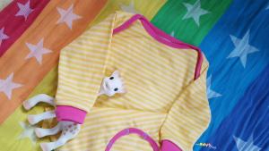 Pepino Schlafanzug Einteiler Baby selber nähen
