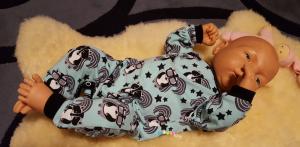 Schnittmuster Pepino als Puppenschlafanzug