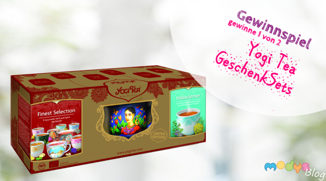 Yogi Tea Geschenk-Set mit Tasse bei modys Blog zu gewinnen